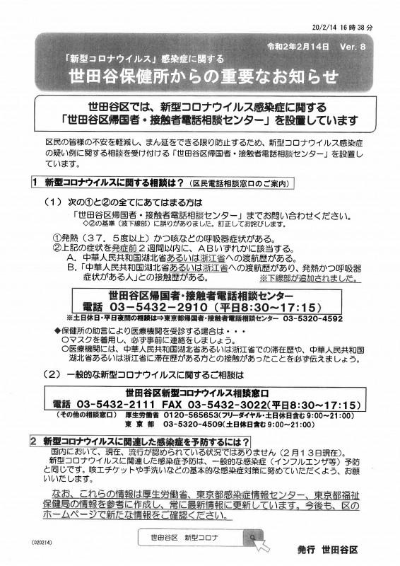 世田谷 区 コロナ 感染 者 数