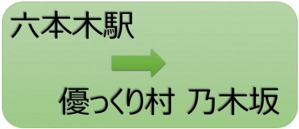 六本木~優っくり村乃木坂